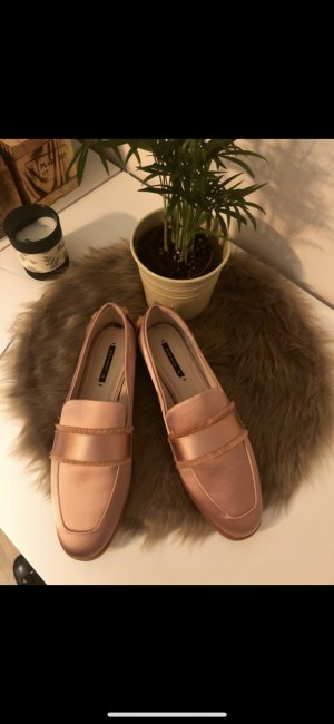 Rose satin zara Loafer in 38