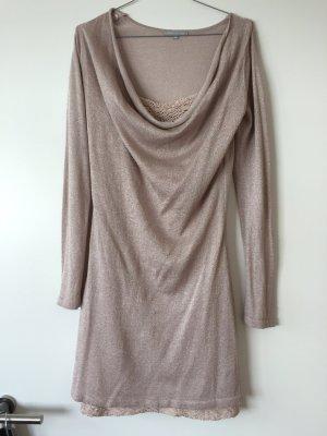 Rose schimmerndes Kleid Größe 36