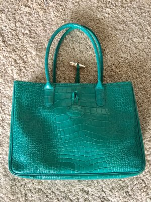 Longchamp Carry Bag turquoise