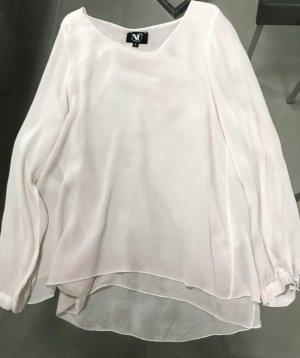 NÜ Denmark Slip-over blouse lichtroze