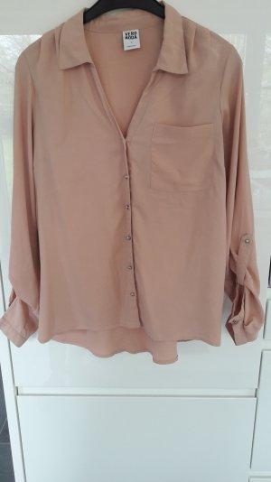 rosefarbene Bluse von Vero Moda