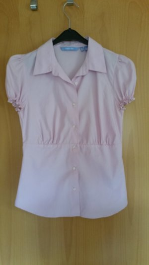 Zara Camicetta a blusa rosa Cotone