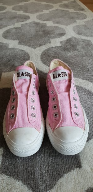 Rosefarbene Converse Chucks All Star low Slip Gr. 37