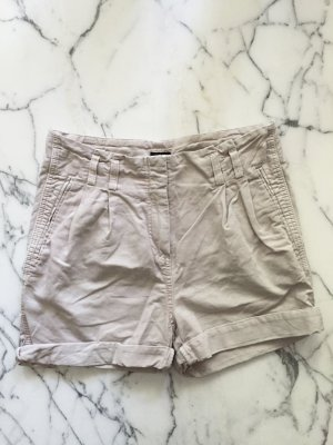 Roséfarbene High Waist Shorts