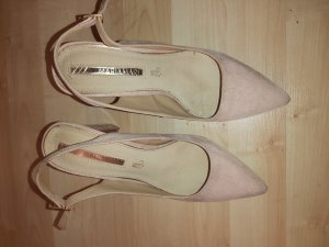 Pointed Toe Pumps dusky pink-pink