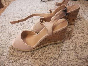 New Look Wedge Sandals pink
