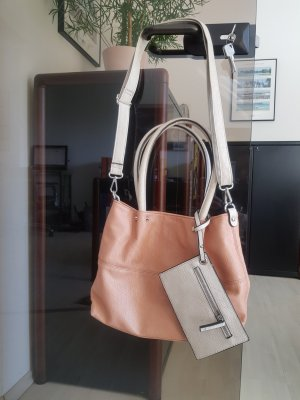 Roséfarbene Shopping Handtasche ~ Top-Zustand