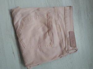 roséfarbene skinny Jeans