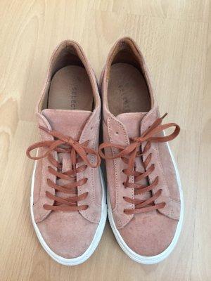 rosefarbene Sneaker von selected femme in Größe 38