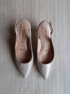 Rosefarbene Tamaris Touch-It High Heel