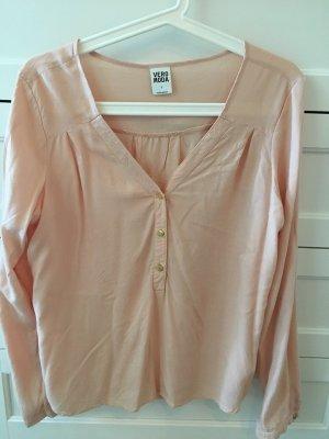 Roséfarbene Vero Moda Bluse