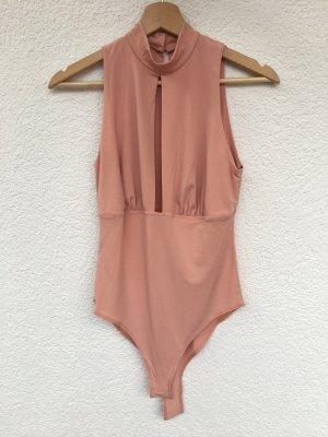 roséfarbener body von forever 21