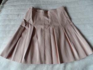 Orsay Plaid Skirt nude imitation leather