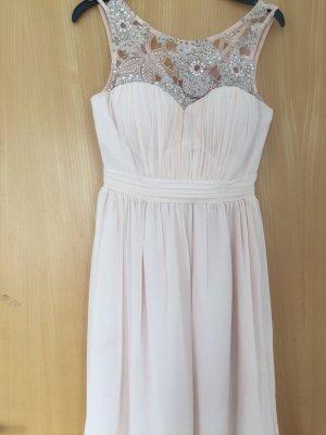 rosefarbenes Kleid