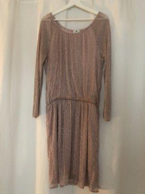 Rosèfarbenes Kleid m.Glitterfaden von Sienna in der Größe S