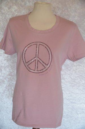 rosefarbenes Peace-Shirt von Gina Benotti