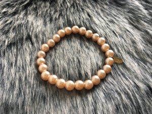 Roséfarbenes Perlenarmband von LBVYR