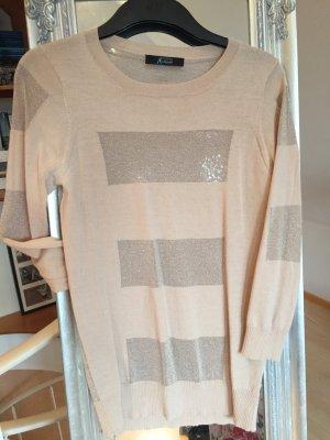 rosefarbenes Shirt mit Glitzereinsätzen von Marciano by Guess