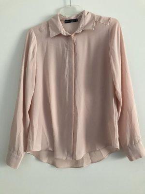 Rosefarbige Bluse  Gr. 34