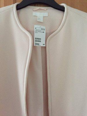 Rosefarbige Jacke von H&M in Größe 40