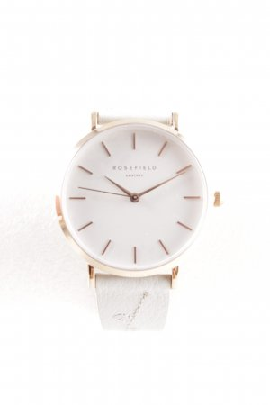 ROSEFIELD Analog Watch pale blue-gold-colored casual look