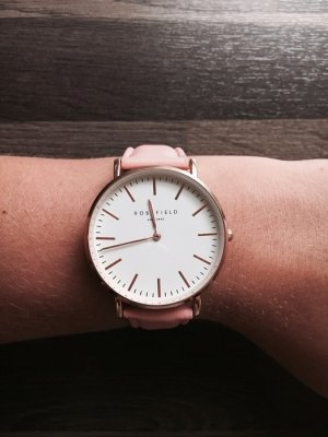 ROSEFIELD Watch With Leather Strap multicolored leather