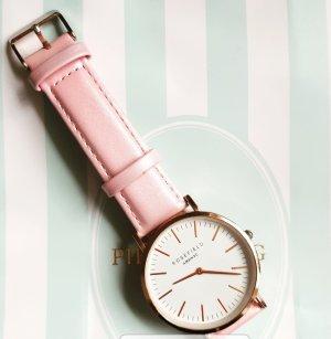 Rosefield Damen Uhr Rosa Rosegold NYC