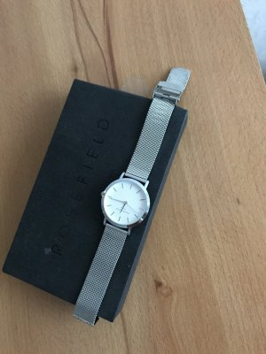 ROSEFIELD Watch white-silver-colored stainless steel