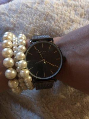 Rosefield Uhr in Schwarz
