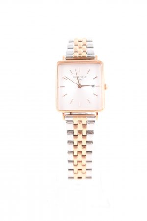 ROSEFIELD Watch With Metal Strap silver-colored-gold-colored business style