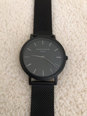 ROSEFIELD Watch With Metal Strap black