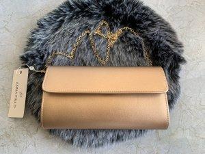 Roségold Clutch mit Kette Tasche Handtasche schultertasche