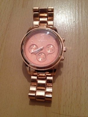 Rosegold-farbene Bershka Uhr :)