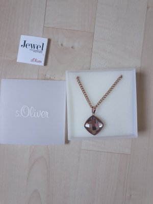 s.Oliver Gold Chain rose-gold-coloured-gold-colored