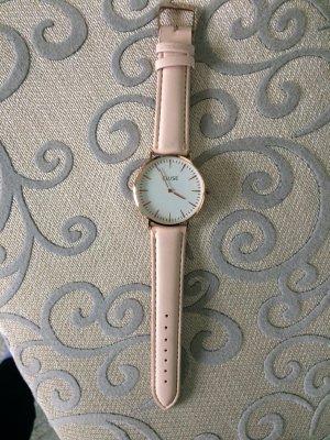Roségold Kupfer Cluse Uhr mit rosa Armband