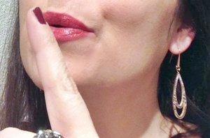 Rosegold Ohrhänger mit Hämatit