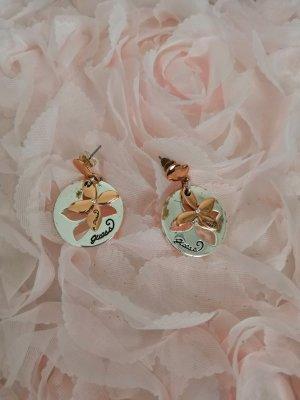 Guess Orecchino argento-color oro rosa