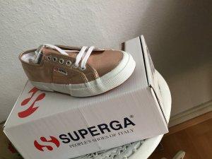 Roségold Sneaker Superga / Kupfer