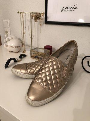 rosègoldene Geox Schuhe in 41