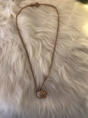 Fossil Necklace rose-gold-coloured-white