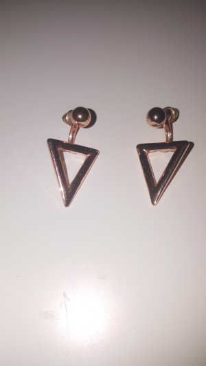 Six Gold Earring rose-gold-coloured