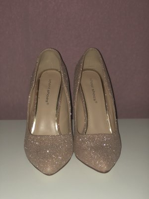 Pointed Toe Pumps rose-gold-coloured