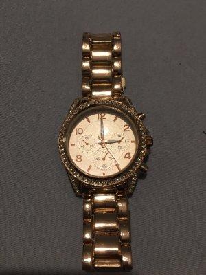Reloj color rosa dorado-color plata