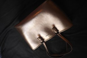 Mango Touch Carry Bag rose-gold-coloured