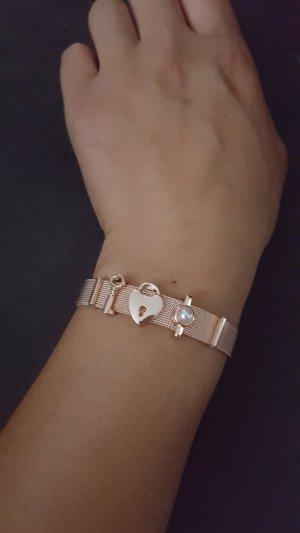 Rosègoldenes Armband neu