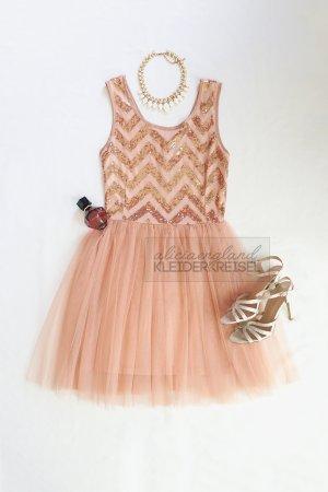 Robe rose chair-abricot