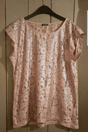 Mötivi Mesh Shirt rose-gold-coloured