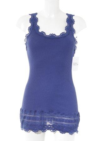 Rosemunde Camisole blau Casual-Look