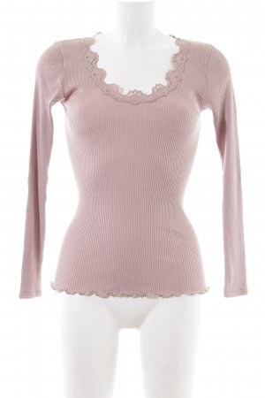 Rosemunde Chemise côtelée rose style décontracté