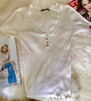 Rosemunde Shirt mit Spitze Gr 38